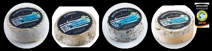 fromages bio individuels le p'tit fermier de kervihan