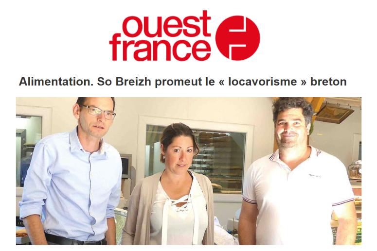 Ouest France Sovéfrais Kervihan
