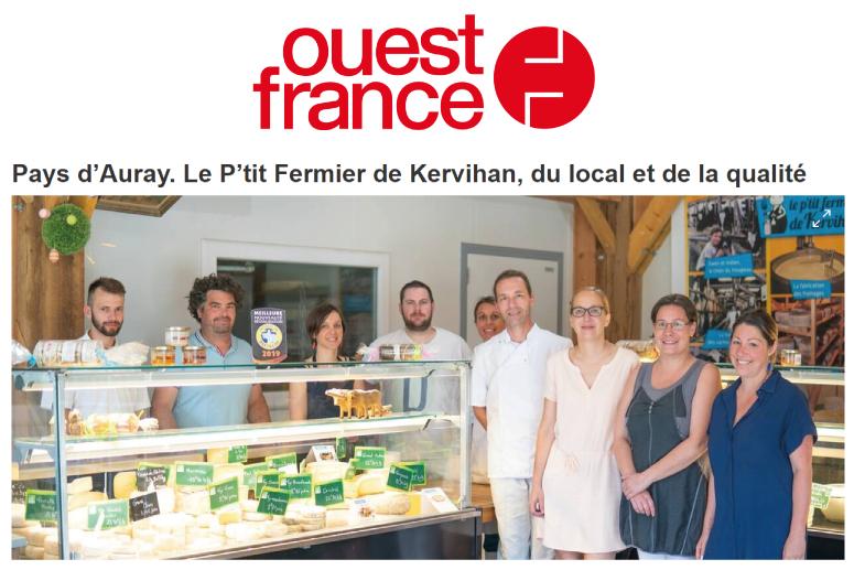 ferme de kervihan 2019 fromagerie bio