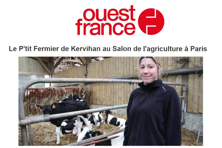 Salon agriculture le p'tit fermier de kervihan