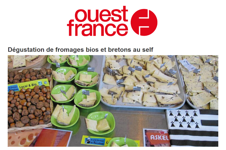 self cantine dégustation fromage bio breton