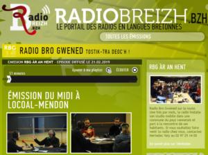 Radio Breizh Le P'tit Fermier de Kervihan Locoal Mendon