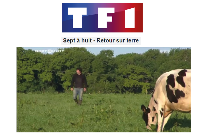 TF reportage agriculture ferme kervihan fromage bio