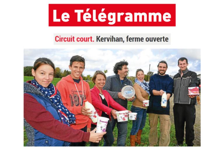 ferme kervihan bio fromage breton