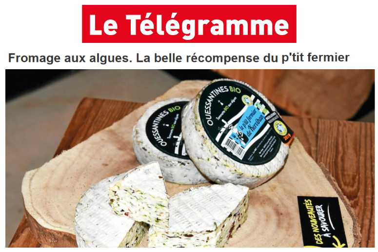 Télégramme Ouessantines Fromage Bio