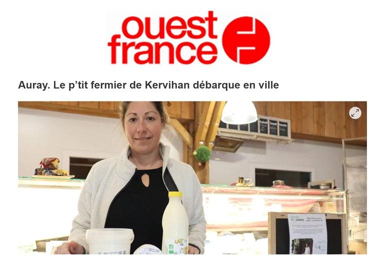 Les Ferm'andises du P'tit Fermier de Kervihan à Auray
